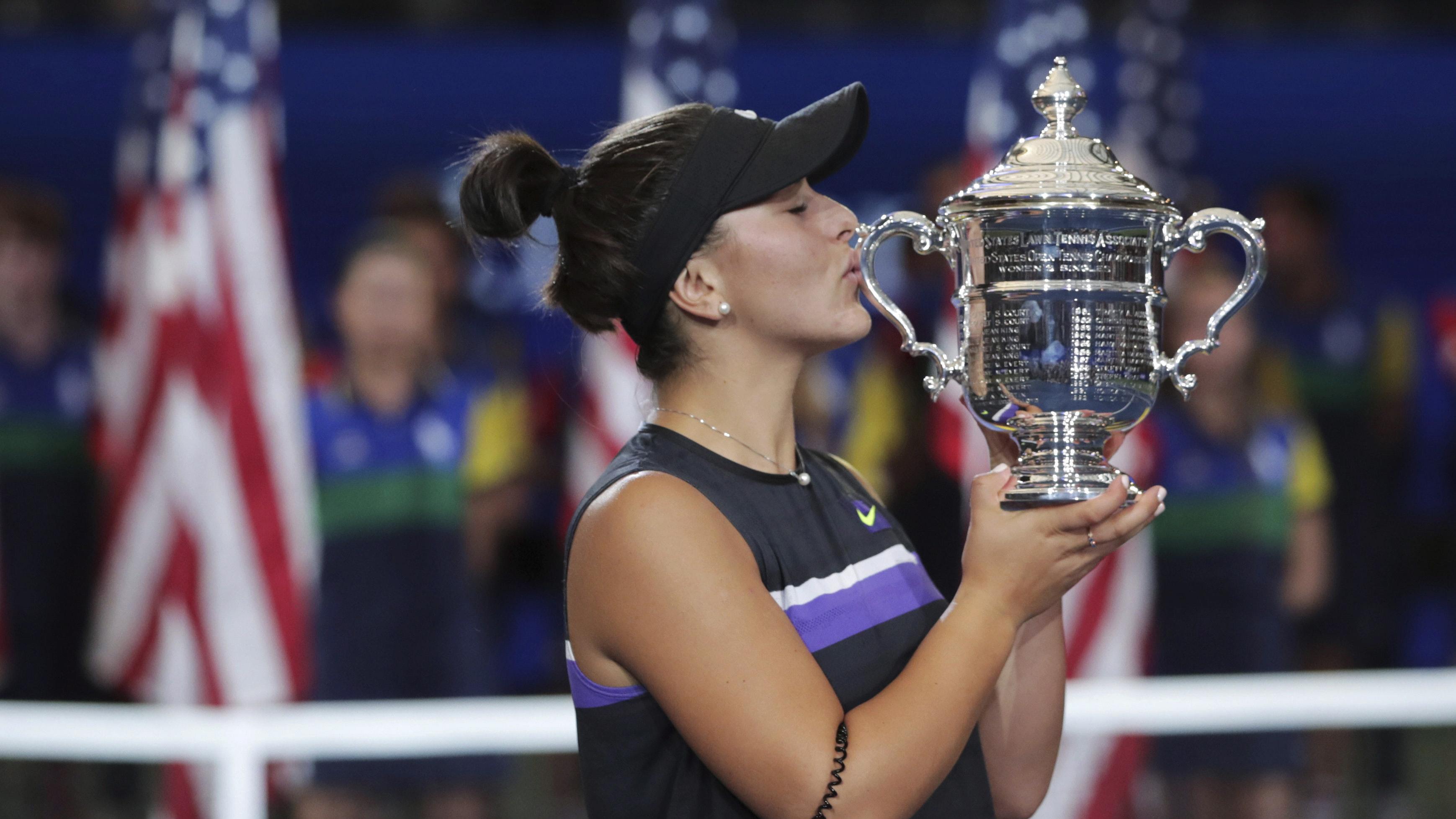 SheTheNorth! Bianca Andreescu wins U S  Open championship