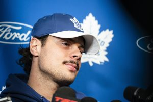 Disorderly conduct charge against Maple Leafs' Matthews dismissed