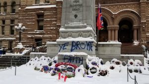 Man who claims he vandalized cenotaph says Don Cherry's firing was motive