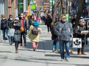 Cities grapple over whether to give more room to pedestrians to spread out