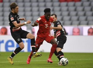 Canada's Davies helps Bayern top Fortuna 5-0 to take 10-point Bundesliga lead