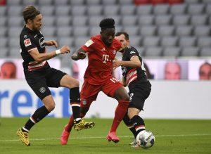 Canada's Davies helps Bayern top Fortuna 5-0 to take 10-point Bundesliga lead