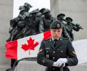 Sentries return to National War Memorial as COVID-19 threat recedes