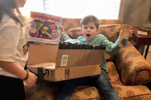 Alabama mail carrier surprises birthday boy with a gift