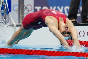 Canadian Kylie Masse wins second silver medal of Tokyo Games in 200 metre backstroke
